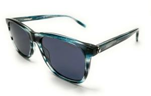 MONT BLANC MB0013S 004 Blue Men's Authentic Sunglasses 56-18