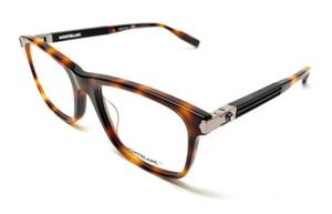 Mont Blanc MB0035O 004 Havana Men Authentic Sunglasses 55-19