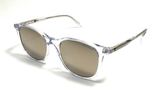 Mont Blanc MB0006S 005 Crystal Men's Authentic Sunglasses 52-20