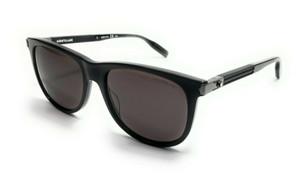 Mont Blanc MB0031S 006 Black Men's Authentic Sunglasses 57-18