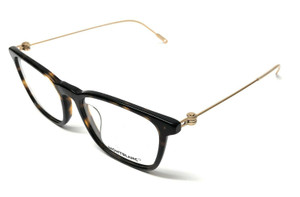 Mont Blanc MB0005OA 002 Havana Men's Authentic Eyeglasses Frame 53-18