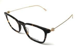Mont Blanc MB0005O 002 Havana Men's Authentic Eyeglasses Frame 52-19