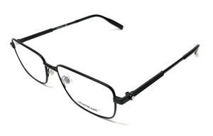 Mont Blanc MB0029O 004 Black Men's Authentic Eyeglasses Frame 58-17