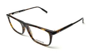 Mont Blanc MB0012O 006 Havana Men's Authentic Eyeglasses Frame 56-18