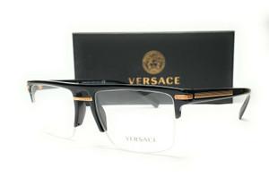VERSACE VE3269 GB1 Black Demo Lens Men's Eyeglasses 55mm