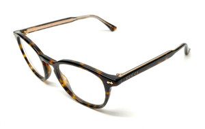 Gucci GG 0187-O 006 Havana Unisex Authentic Eyeglasses Frame 49-20