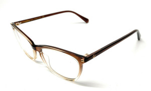 Gucci GG 0549-O 004 Brown Women's Authentic Eyeglasses Frame 52-16-B2