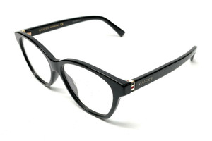 GUCCI GG0456O 001 Black Women's Authentic Eyeglasses Frame 53 mm