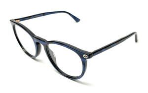 GUCCI GG0027O 005 Blue Women's Authentic Eyeglasses Frame 50 mm