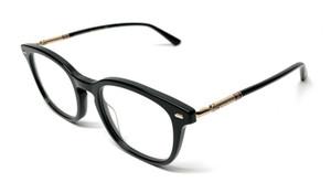 Gucci GG 0390-O 001 Black Men's Authentic Eyeglasses Frame 50-21