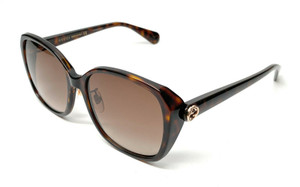 Gucci GG 0371-SK 002 Havana Women's Authentic Sunglasses 57-17-A6