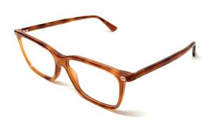 Gucci GG 0094-O 008 Light Havana Women's Authentic Eyeglasses Frame 54-14