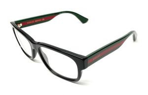 GUCCI GG0343O 007 Black Men's Authentic Eyeglasses Frame 57mm