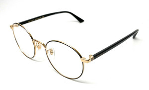 Gucci GG0297OK 003 Black Unisex Authentic Eyeglasses Frame 52mm A6