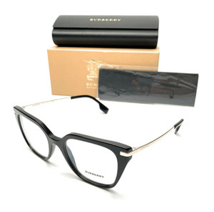 Burberry BE 2310 3001 Black Men's Authentic Eyeglasses Frame 52-19