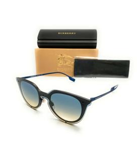 Burberry BE 3102 1285/79 Blue Rubber Women's Authentic Sunglasses 145