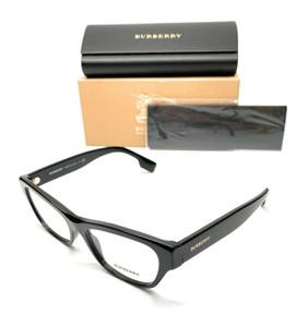 Burberry BE 2302 3001 Black Women's Authentic Eyeglasses Frame 53-17