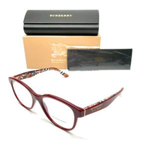 Burberry BE 2278 3742 Bordeaux Women's Authentic Eyeglasses Frame 52-17