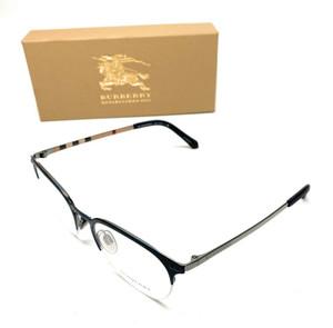Burberry B 1327 1274 Matte Blue Men's Authentic Eyeglasses Frame 53-20