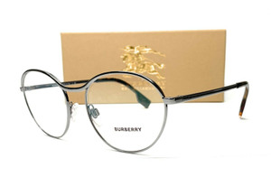 BURBERRY BE1337 1003 Gunmetal Demo Lens Women's Eyeglasses 53 mm