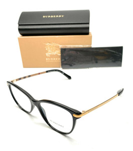 Burberry BE 2280 3001 Black Women's Authentic Eyeglasses Frame 54-16