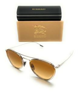 Burberry BE 3104 10052L Yellow Glitter Women's Authentic Sunglasses 51-21