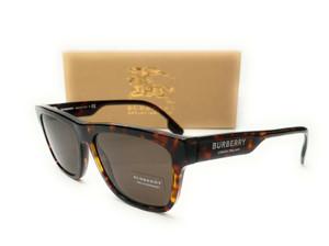 Burberry BE4293 30023 Dark Havana Brown Lens Women Sunglasses 56mm