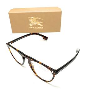 Burberry B 4281 3002/1W Havana Men's Authentic Eyeglasses Frame 54-21