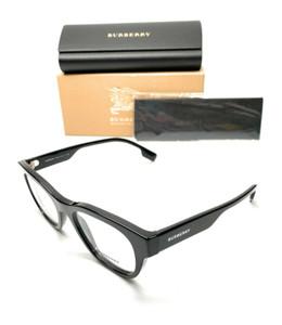 Burberry BE 2306 3001 Black Men's Authentic Eyeglasses Frame 52-19