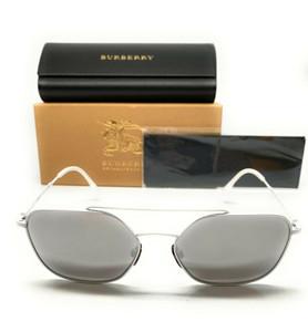 Burberry BE 3107 12916G White Men's Authentic Sunglasses 56-18