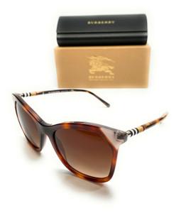 Burberry BE 4263 375513 Havana Women's Authentic Sunglasses 54-19
