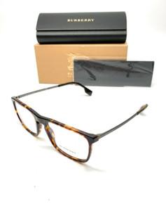 Burberry BE 2288 3002 Dark Havana Men's Authentic Eyeglasses Frame 55-19