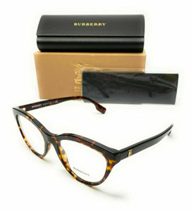 Burberry BE 2311 3002 Havana Women's Authentic Eyeglasses Frame 53-19