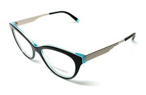 New Tiffany TF2180 8274 Black Women Authentic Eyeglasses Frame 52-16