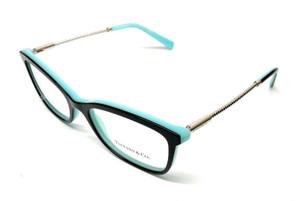 New Tiffany & Co TF2169 8055 Black Women's Authentic Eyeglasses Frame 53-17
