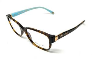 New Tiffany TF 2084 8015 Havana Women Authentic Eyeglasses Frame 55-17