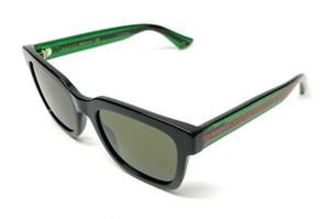 GUCCI GG0001S 002 Black Square Men's Authentic Sunglasses 52 mm