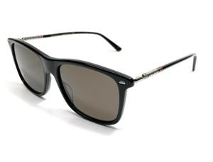GUCCI GG0518S 001 Black Rectangle Men's Authentic Sunglasses 54 mm