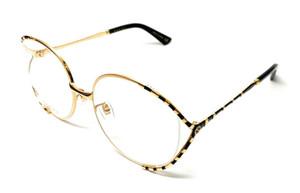 Gucci GG 0596-OA 001 Gold Women's Authentic Eyeglasses Frame 58-19-B2