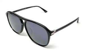 Gucci GG 0016-SA 001 Black Men's Authentic Sunglasses 59-13-A6