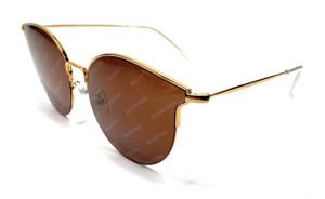 Balenciaga BB0021SK 005 Gold Women's Authentic glasses Frame 55-18