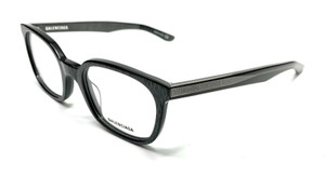 Balenciaga BB0027O 003 Grey Unisex Authentic Eyeglasses Frame 51-21