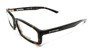 Balenciaga BB0008O 003 Havana Unisex Authentic Eyeglasses Frame 57 mm