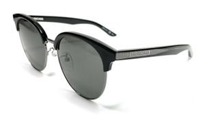 Balenciaga BB0020SK 001 Black Unisex Authentic Sunglasses 55-19