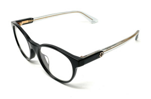 GUCCI GG0487OA 005 Black Women's Authentic Eyeglasses Frame 49 mm
