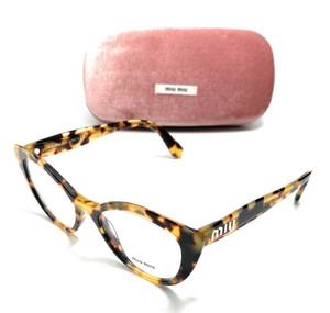 Miu Miu VMU 04R 7S0-1O1 Havana Women's Authentic Eyeglasses Frame 51-17