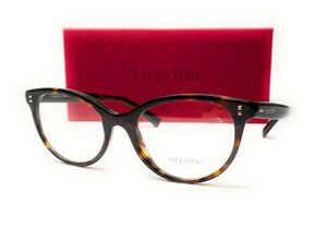 VALENTINO VA3009 5002 Havana Demo Lens Women's Eyeglasses 52 mm