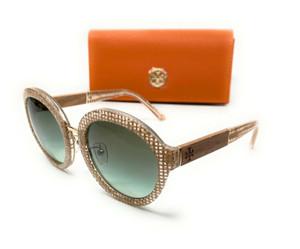 Tory Burch TY7128 17388E Crystal On Raffia Women's Sunglasses 54 mm