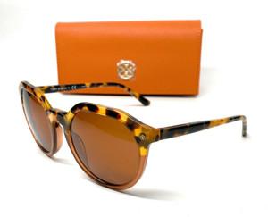 Tory Burch TY7130 175373 Havana Irregular Women's Sunglasses 52 mm