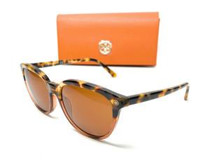 Tory Burch TY7131 175373 Havana Women's Square Sunglasses 55 mm